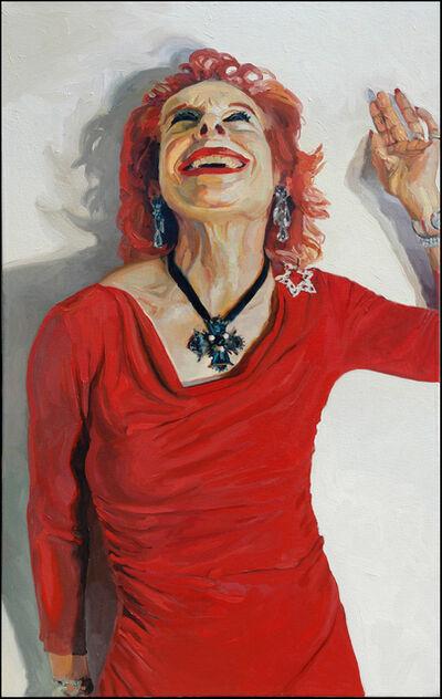 Laura Alexander, 'Olivia, Red Dress', 2005