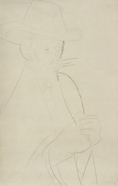 Amedeo Modigliani, 'Caballero', 1916