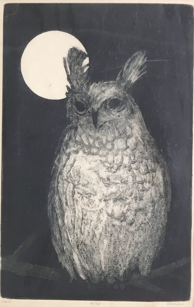 Doris Dickason, 'Owl', Late 20th c.