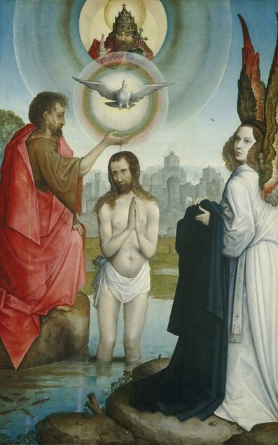 Juan de Flandes, 'The Baptism of Christ', ca. 1508/1519