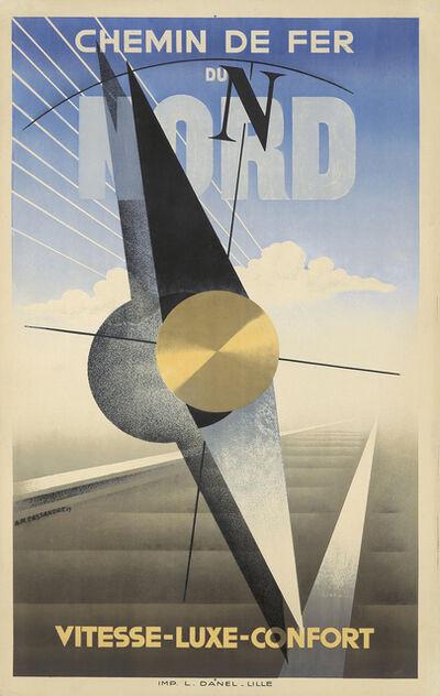 A.M. Cassandre, 'Chemin de Fer du Nord', 1929