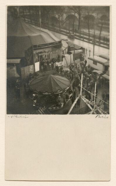 André Kertész, 'Fete Foraine sur le Paris de L'Hotel de Ville, Paris', 1926