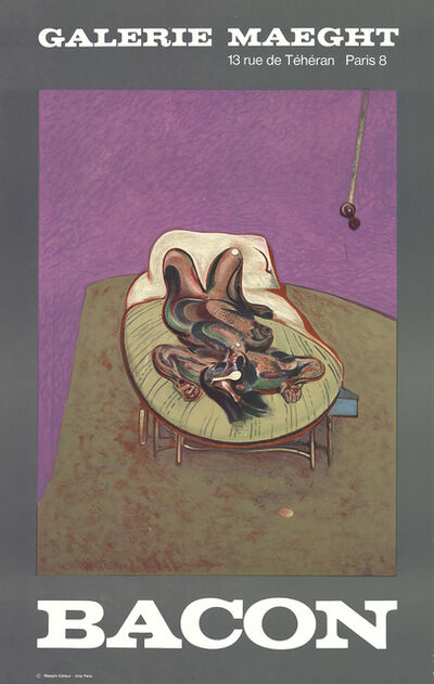 Francis Bacon, 'Personnage Couche', 1966
