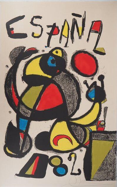 Joan Miró, 'España 82 (World Cup)', 1982