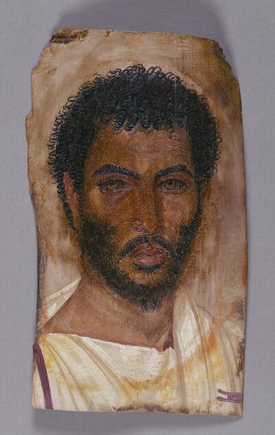 'Mummy Portrait of a Bearded Man', ca. 150 -170