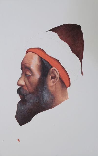 Irfan Hasan, 'Profile of Moroccan Man, After Josep Tapiró Baró', 2016