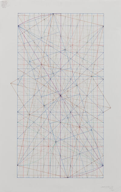 Mark Reynolds, 'Phi Series: The 1.902 with the Triple and Quadruple Squares, 3.17', 2017