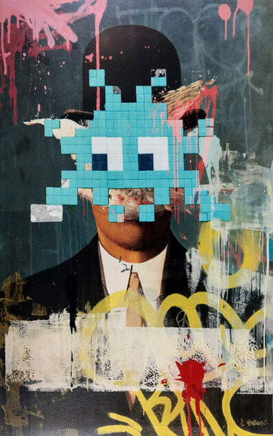 Kenny Random, 'Invader Portrait', 2018