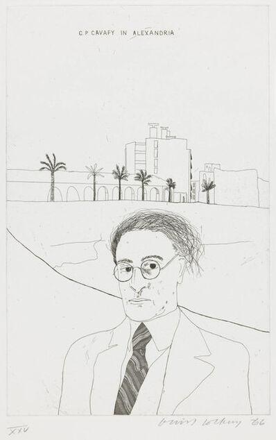 David Hockney, 'Portrait of Cavafy in Alexandria I ', 1966