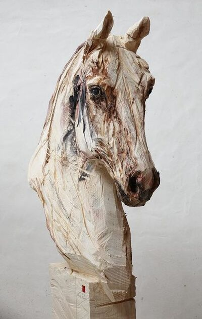 Jürgen Lingl-Rebetez, 'Buste de cheval', 2018