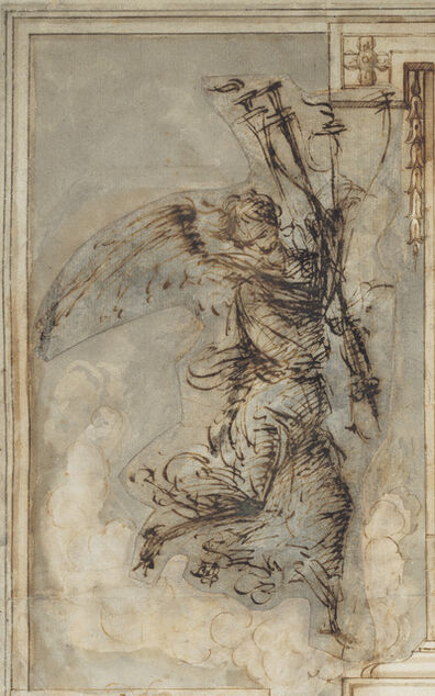 Filippino Lippi, 'An Angel Carrying a Torch', ca. 1500/1504