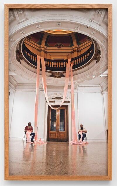 Miller & Shellabarger, 'Untitled (Crochet, The Carnegie, Covington, KY)', 2020