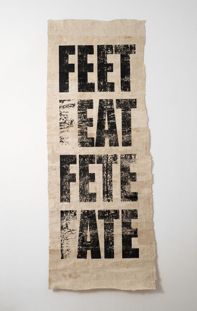 Newell Harry, 'Untitled (FEET/FEAT/FETE/FATE)', 2008