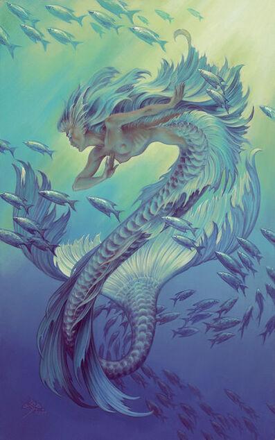 Stephen Hickman, 'Silver Mermaid', 2917