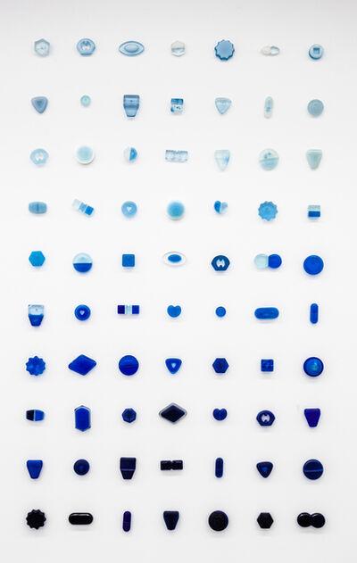 Beverly Fishman, 'Bluer than Blue, #1 - 70', 2000