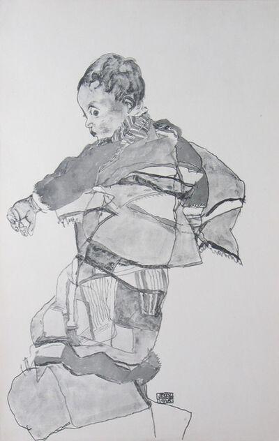 Egon Schiele, 'Portrait of a Child (Layni Portfolio)', 1917