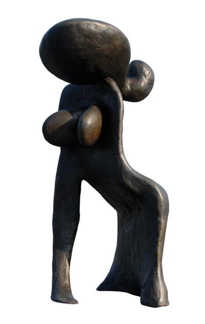 Wang Keping 王克平, 'Woman Leaning (Woman 2)', 2005