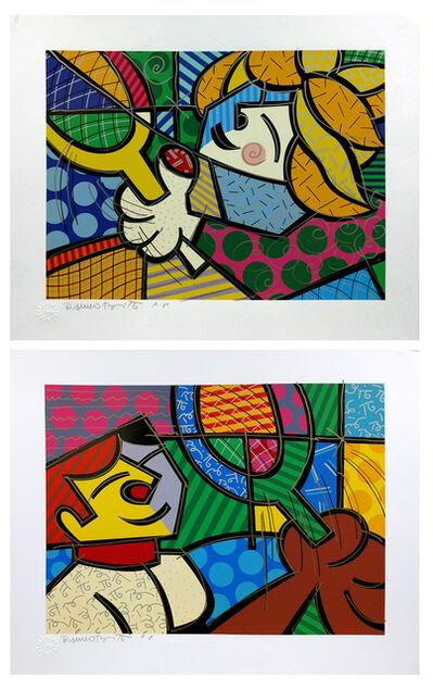 Romero Britto, 'TENNIS SUITE', 1994