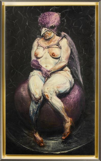 Roberto Fabelo, 'Mujer pájaro', 2012