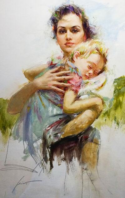 Pino Daeni, 'Maternal Instinct'