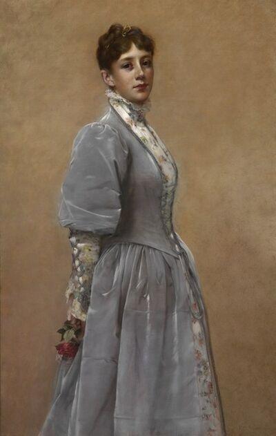Francis Davis Millet, 'Portrait of Sadie P. Waters', 1888