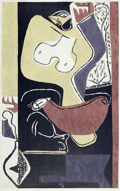 Le Corbusier, 'Femme à la main levée', 1954