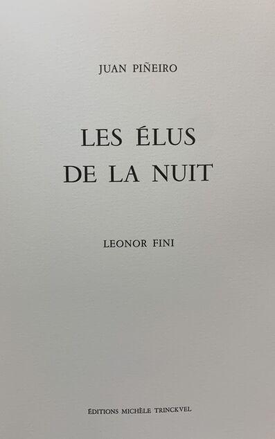 Leonor Fini, 'Les Elus De La Nuit', 1986