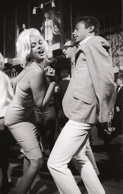 Julian Wasser, 'Jayne Mansfield at the Whisky a Go-Go, 1964', 1964