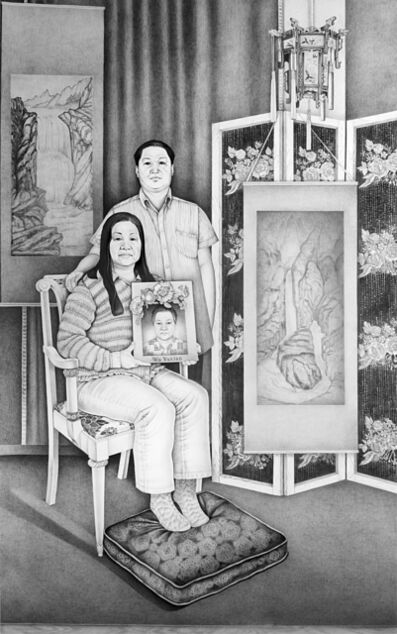 Henna Pohjola, 'Reunion - Portrait of Zhiping Wu and Luoxin Zhu', 2017