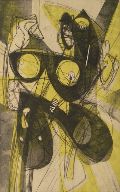 Stanley William Hayter, 'Ceres', 1947-1948
