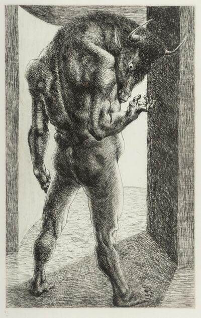 Michael Ayrton, 'Minotaur Risen', 1971