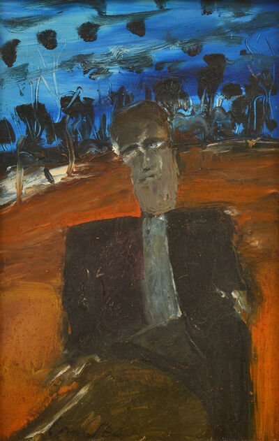 Kevin Connor, 'Portrait of a man', 1964