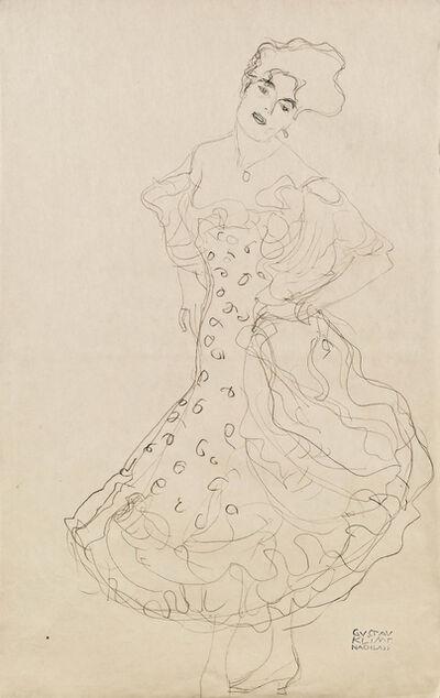 Gustav Klimt, 'The Dancer', ca. 1907