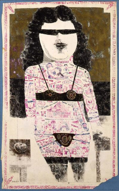Peter Blake, 'Tattooed Lady #1', 1955