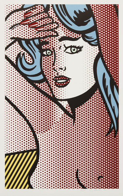Roy Lichtenstein, 'Nude with Blue Hair, from Nudes Series', 1994