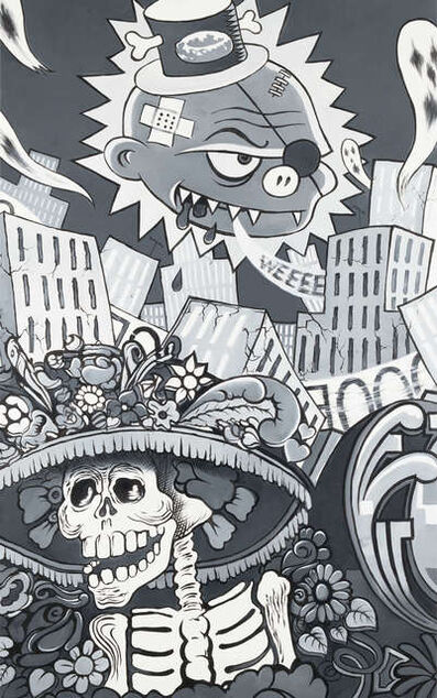 Erró, 'Mexico Weeee', 2013