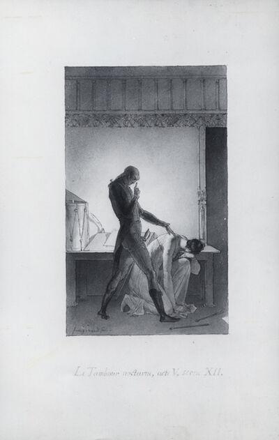 Alexandre-Evariste Fragonard, 'Le tambour nocturne', ca. 1820