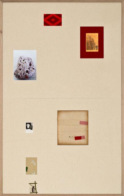 SEZA PAKER, 'Untitled (Le Mot Rouge)', 2015