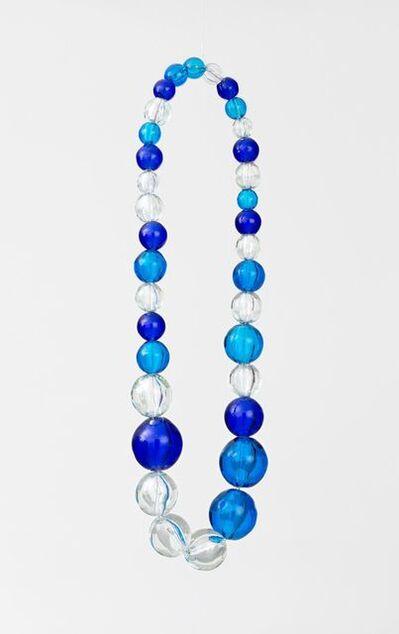 Jean-Michel Othoniel, 'Untitled (aquamarine, cobalt and crystal necklace)', 2013