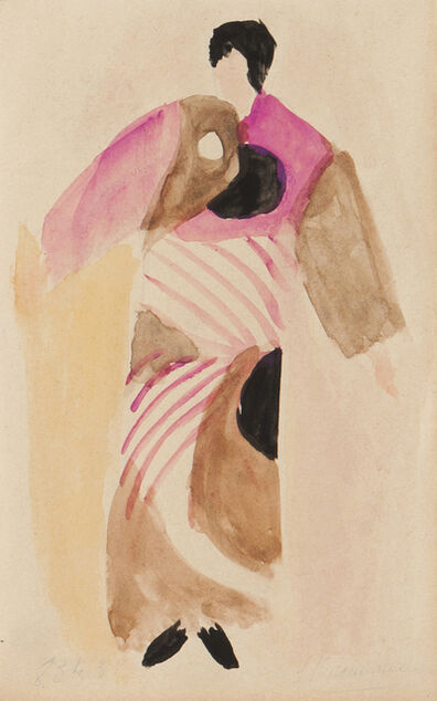 Sonia Delaunay, 'Untitled (fabric project)'