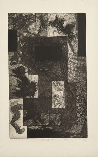 Alice Trumbull Mason, 'Ghost Mark', 1949