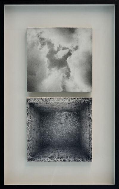 Aldo Tagliaferro, 'Sopra/Sotto un metro di terra (Variante 1)', 2000