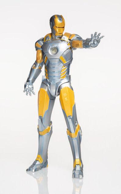 Hajime Sorayama X Marvel X Gentle Giant, 'Iron Man (Metropolis Armor Variant)', 2017