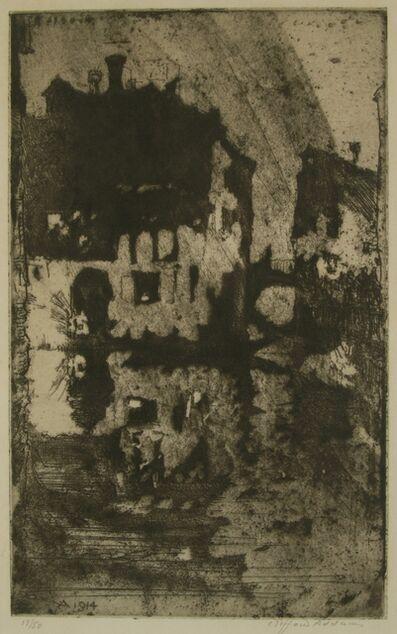 Clifford Isaac Addams, 'Venice, Ma Porte a Venise'