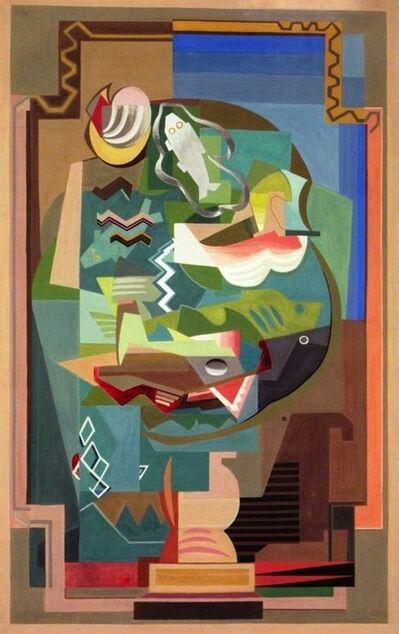 Louis Marcoussis, 'La Table', 1925-1927