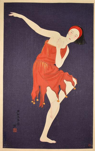Kiyoshi Saito, 'Western Style Dancing', 1934