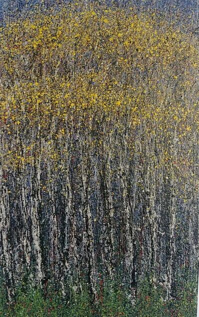 Diana Carey, 'Evening in the Yellow Woods'