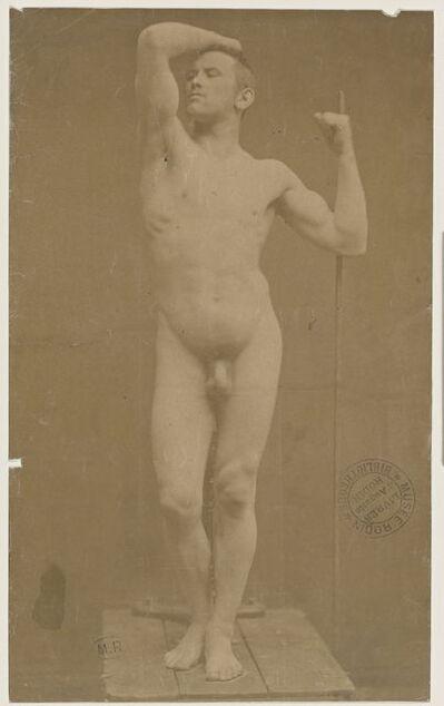 Gaudenzio Marconi, 'Auguste Neyt, modèle de l'Âge d'airain (Auguste Neyt, modle for Age of Bronze)', 1877