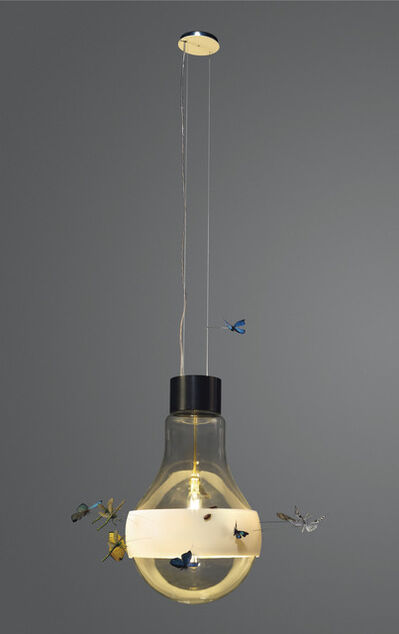 Ingo Maurer, 'Giant Bulb - la Festa delle Farfalle'', 2018
