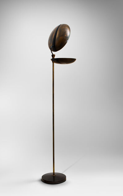 "Jeanette Laverriere, '""Clam"" floor lamp ', ca. 1959"